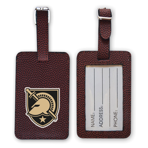 Army Black Knights Football Luggage Tag