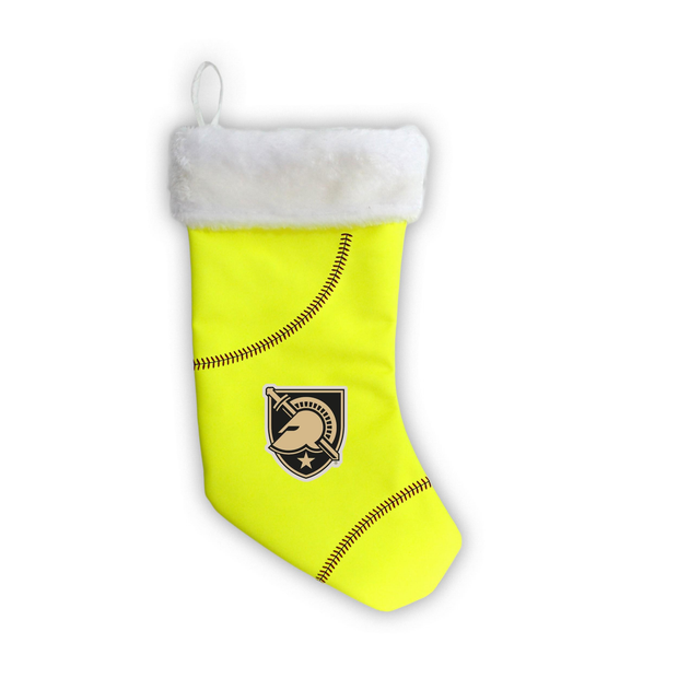 "Army Black Knights 18"" Softball Christmas Stocking"