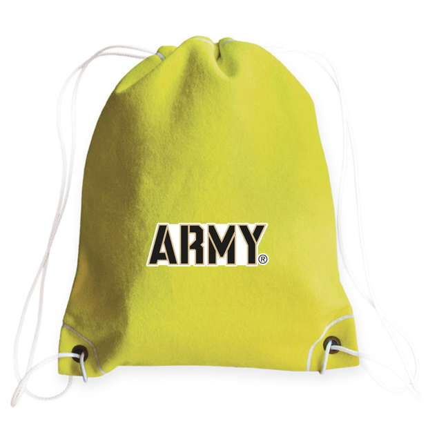 Army Tennis Drawstring Bag