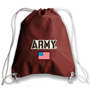 Army USA Football Drawstring Bag