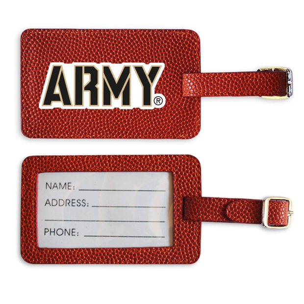 Army Basketball Luggage Tag