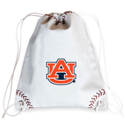 Auburn Tigers Baseball Drawstring Bag