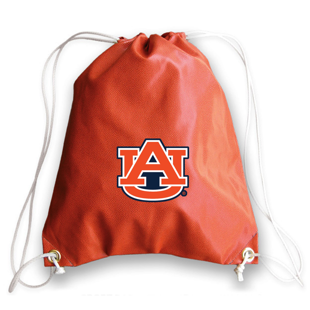 Auburn Tigers Basketball Drawstring Bag