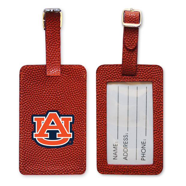 Auburn Tigers Basketball Luggage Tag