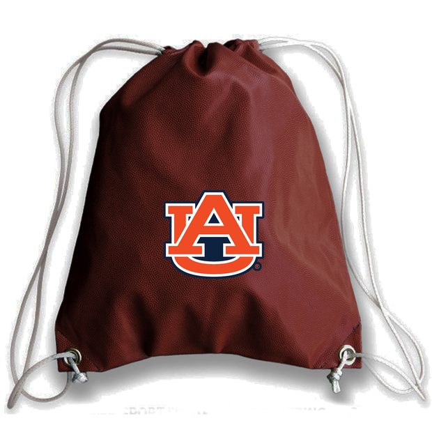 Auburn Tigers Football Drawstring Bag