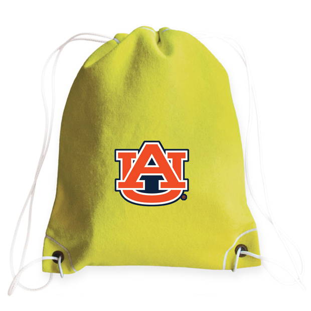 Auburn Tigers Tennis Drawstring Bag