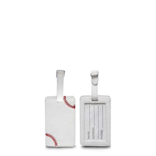 Baseball Luggage Tag