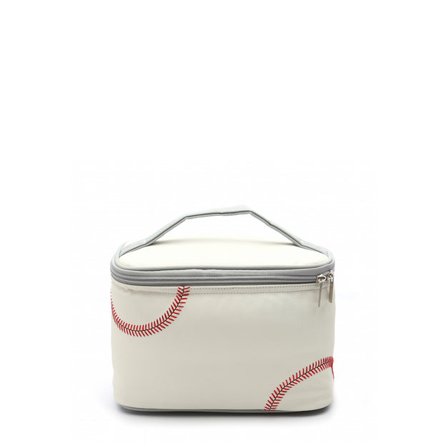 baseball material cooler bag