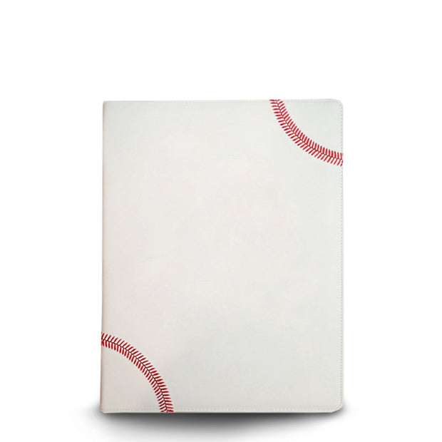 portfolio that looks like a baseball