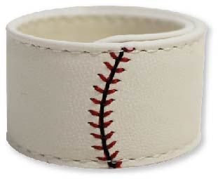 baseball roll up bracelet