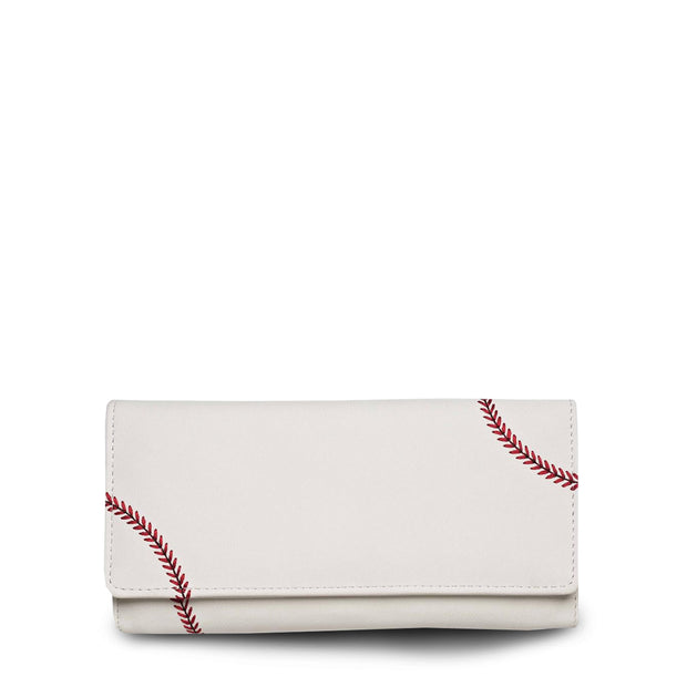 women's wallet that looks like a baseball