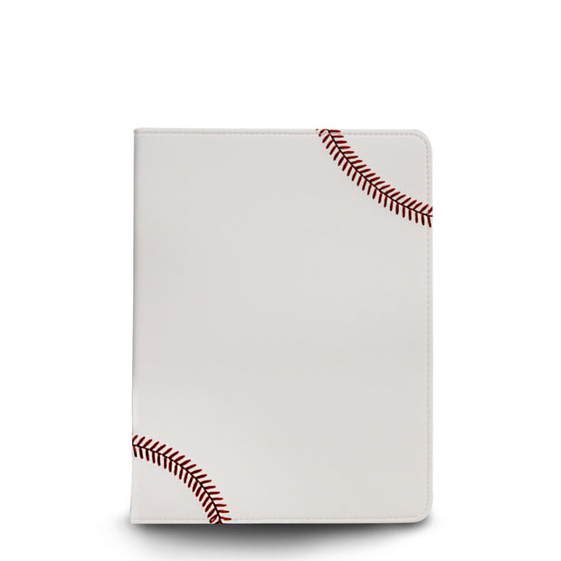 ipad air cover made from baseball leather