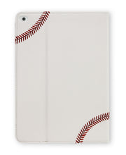 white and red baseball ipad air cover