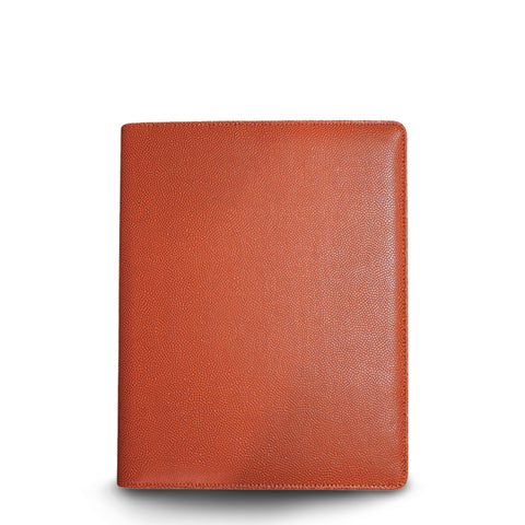 basketball portfolio made from ball leather