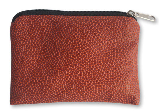 Coin Purse Made From Basketball Leather Material