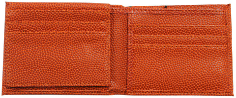 wallet that looks and feels like a basketball