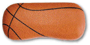 basketball leather eyeglasses case