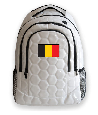 Belgium National Pride Soccer Backpack