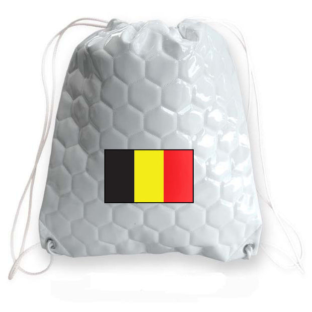 Belgium national team soccer drawstring cinch bag