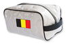 Belgium National Pride Soccer Toiletry Bag