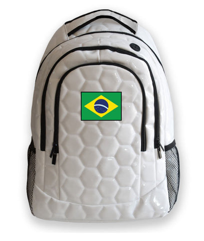 Brazil National Pride Soccer Backpack