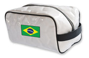 Brazil soccer national team toiletry bag