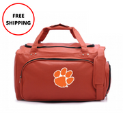 Clemson Tigers Basketball Duffel Bag