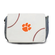 Clemson Tigers Baseball Messenger Bag