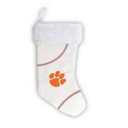 "Clemson Tigers 18"" Baseball Christmas Stocking"