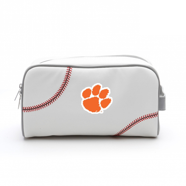 Clemson Tigers Baseball Toiletry Bag