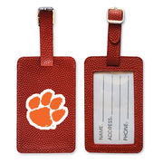 Clemson Tigers Basketball Luggage Tag