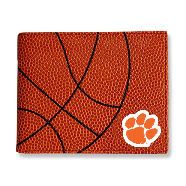 Clemson Tigers Basketball Men's Wallet