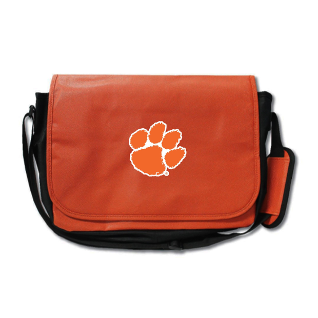 Clemson Tigers Basketball Messenger Bag