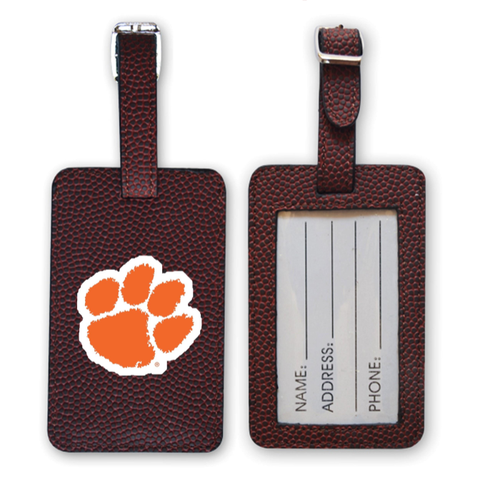 Clemson Tigers Football Luggage Tag