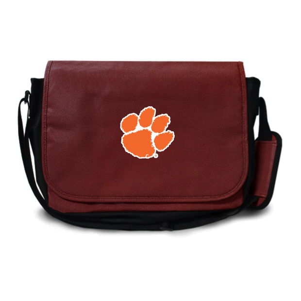 Clemson Tigers Football Messenger Bag