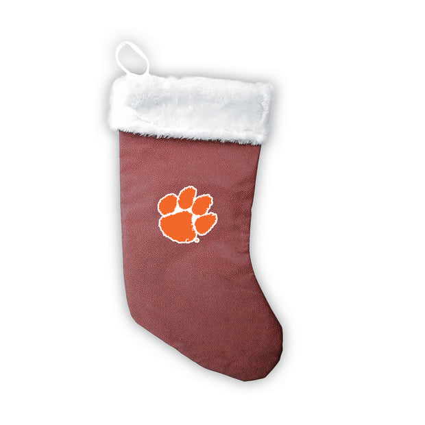 "Clemson Tigers 18"" Football Christmas Stocking"