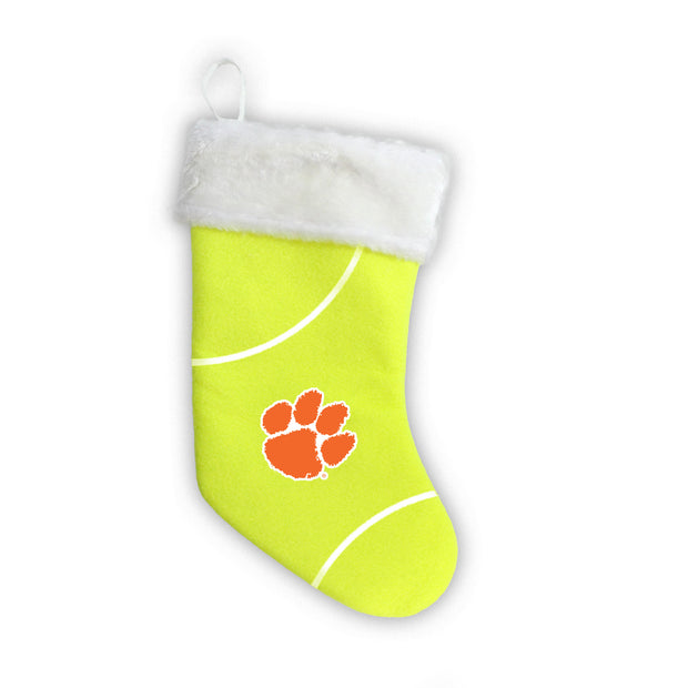 "Clemson Tigers 18"" Tennis Christmas Stocking"