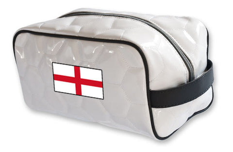 England National Pride Soccer Toiletry Bag