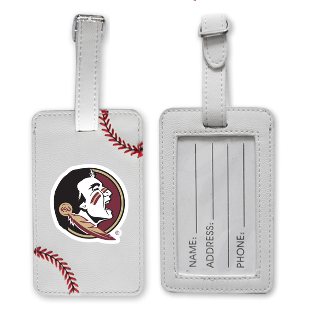 Florida State Seminoles Baseball Luggage Tag