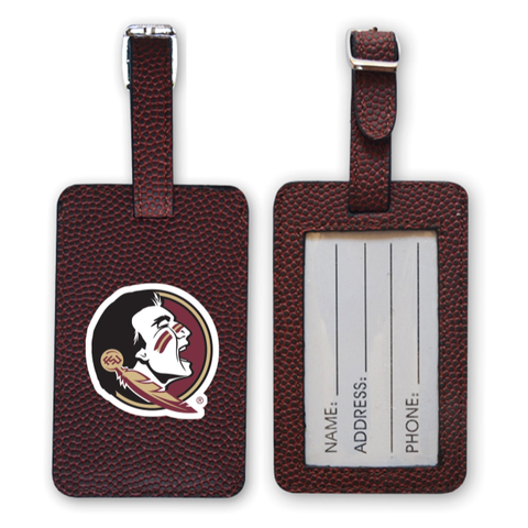 Florida State Seminoles Football Luggage Tag