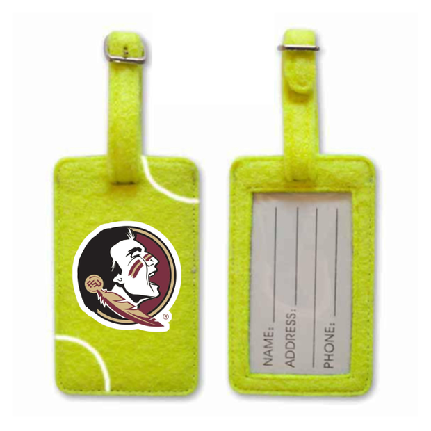 Florida State Seminoles Tennis Luggage Tag