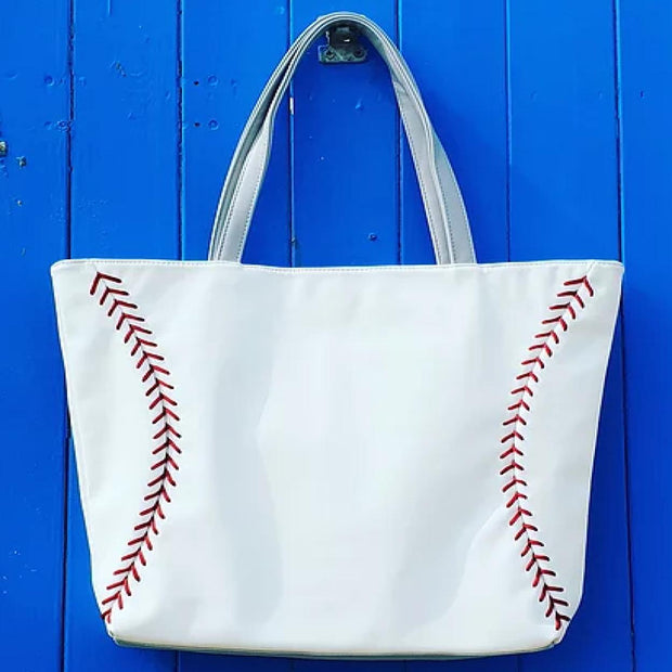 Baseball Purse Tote Handbag