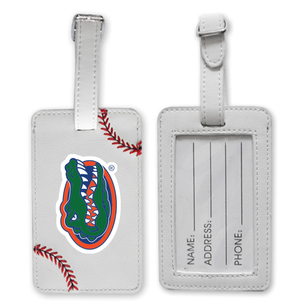 Florida Gators Baseball Luggage Tag