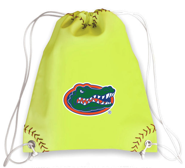 Florida Gators Softball Drawstring Bag