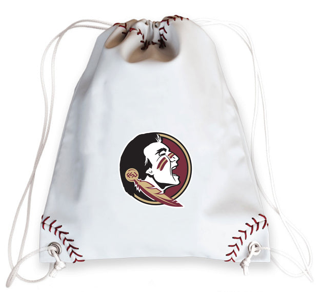 Florida State Seminoles Baseball Drawstring Bag