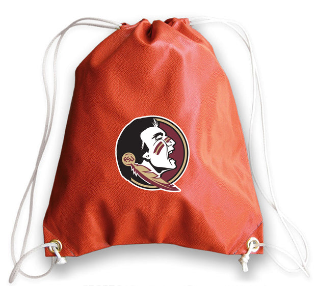 Florida State Seminoles Basketball Drawstring Bag