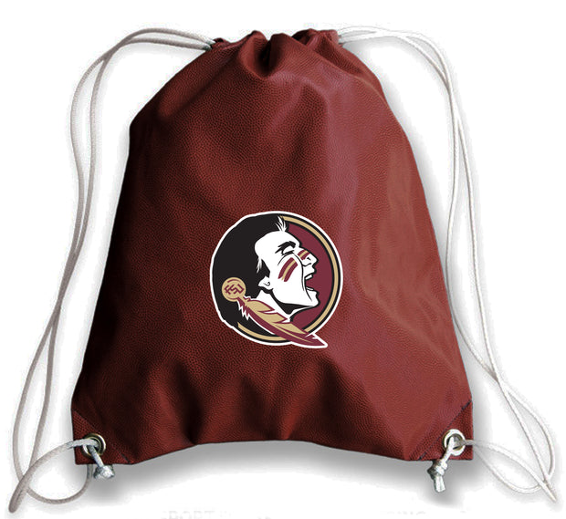 Florida State Seminoles Football Drawstring Bag