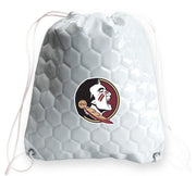 Florida State Seminoles Soccer Drawstring Bag