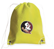 Florida State Seminoles Tennis Drawstring Bag