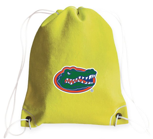 Florida Gators Tennis Drawstring Bag